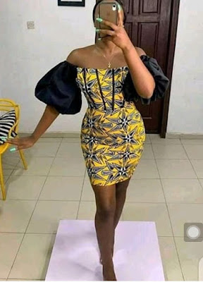 Latest Ankara Short Gown Styles