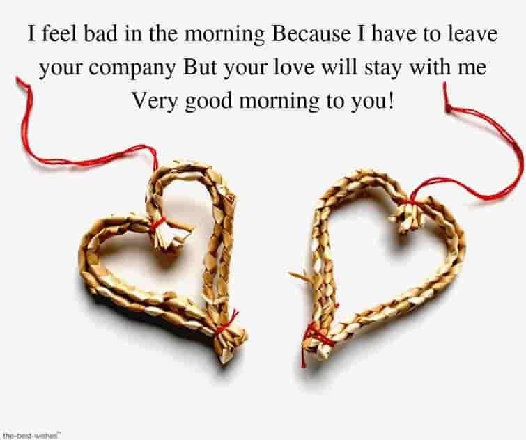 good morning messages for her to make her smile