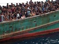 Astaga, Pengungsi Rohingya Tewas Berebut Bantuan Makanan