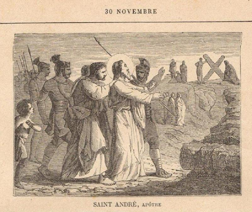 O mártirio de André, apóstolo - 70 d.C.