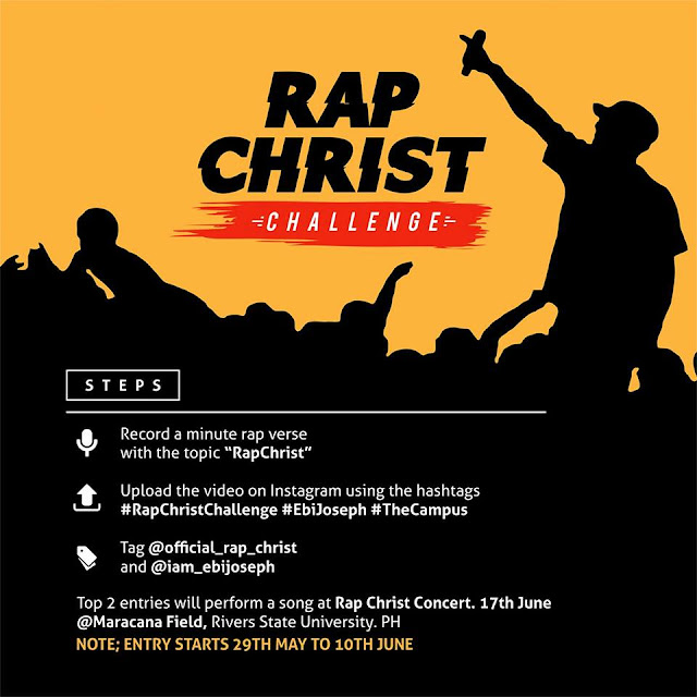 Join the Rap Christ Challenge With Ebi Joseph