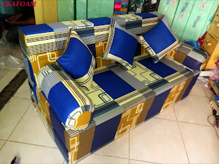 Sofa bed inoac terbaru april 2016 motif sirkuit biru