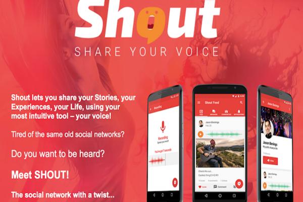 شبكة إجتماعية جديدة لمشاركة القصص و تجارب الحياة مع أشخاص بجميع بقاع العالم بشكل صوتي !