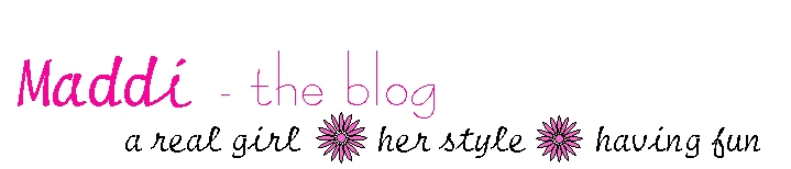 Maddi - the blog