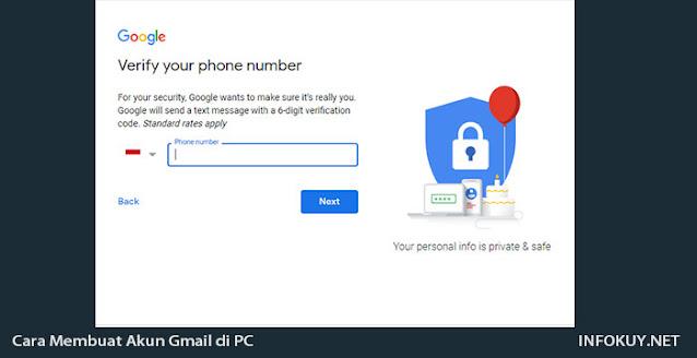 Cara Membuat akun Gmail di PC #2
