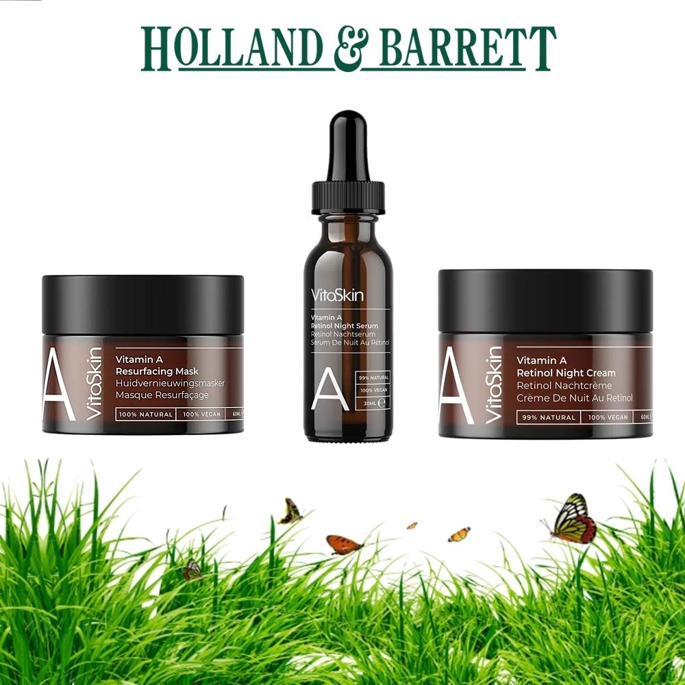 Vitaskin, Vitamin A, Holland And Barett