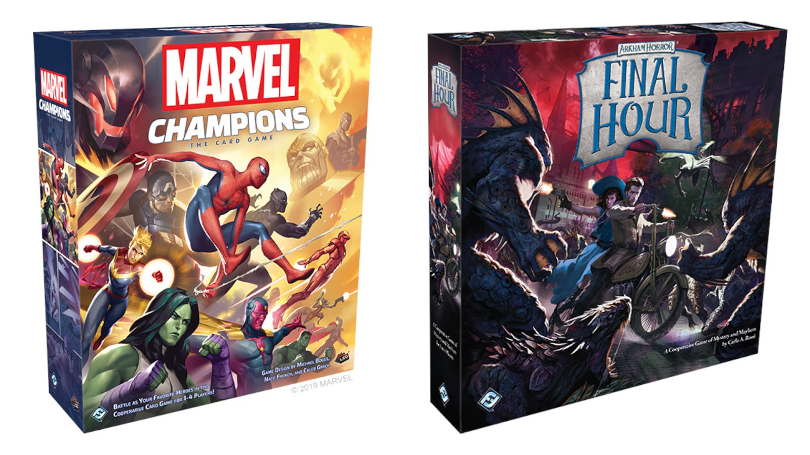 News Collider - Fantasy Flight Games Announce Marvel Champions LCG and Arkham Horror Final Hour