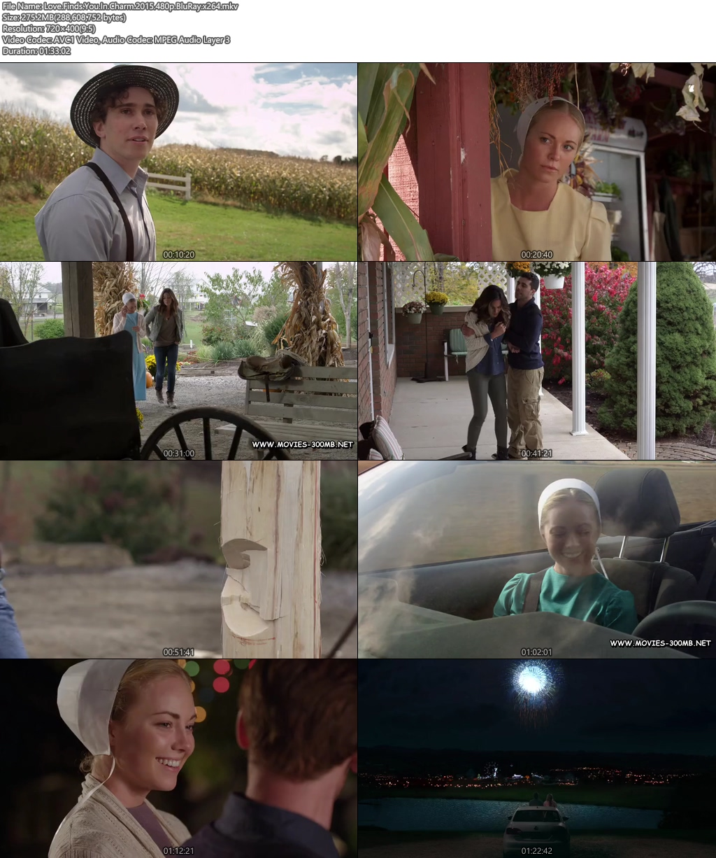 Love Finds You In Charm 2015 480p BluRay 300MB x264 Screenshot