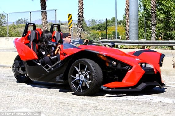 What Breakup Up Tyga Takes Kylie Jenner For A Spin In His