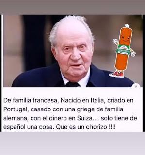 Juan Carlos e o franquismo