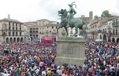 El baile del Chivirí en Trujillo
