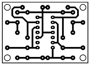 Printed-Debounced-Pulse-Generator-Circuit