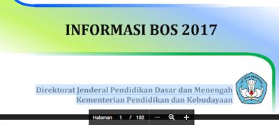 gambar Informasi Lengkap Dana BOS Tahun 2017