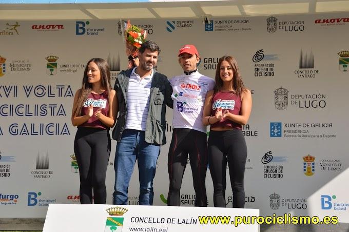 David González - Líder Sub23 en la Volta a Galicia