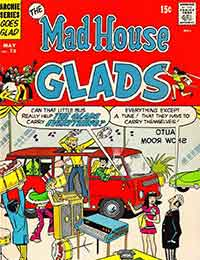 Read The Mad House Glads comic online