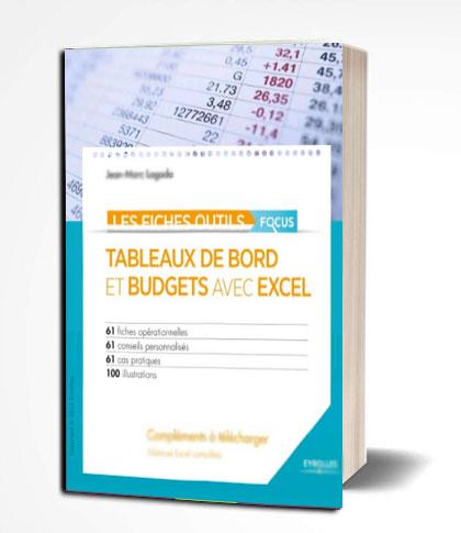 en PDF Tableaux de bord en PDF budgets avec Excel