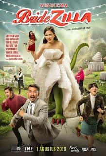 Comedy Indonesia Terbaru Produksi Vinema Pictures Review Bridezilla 2019 Bioskop