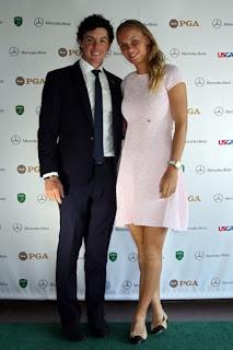 Rory Mcilroy With Ex Girlfriend Caroline Wozniacki