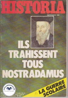 Revue Historia, 420 de novembre 1979, ils trahissent tous Nostradamus