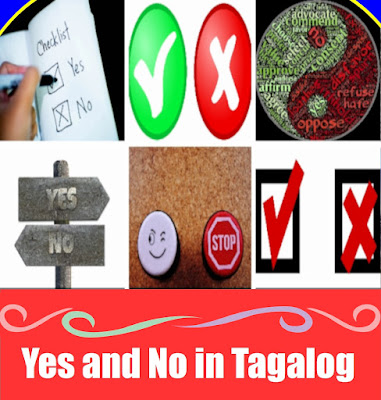 Yes or No in Tagalog