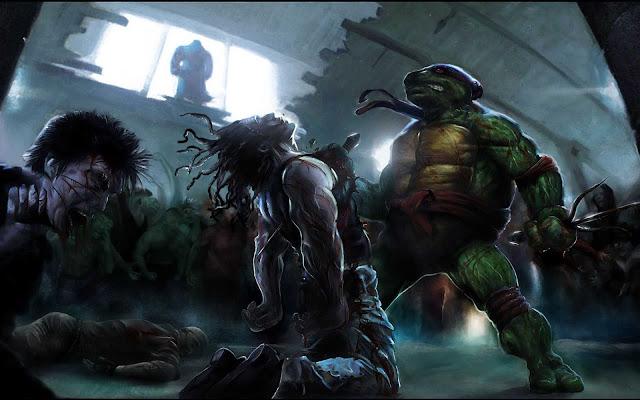 ninja turtle dead wallpaper