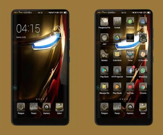 iOS Transformers Theme for Oppo
