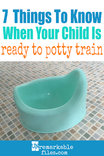 With 6 kids, I feel like I've attained potty training expert status. Here are my thoughts on potty training methods and books, when to start potty training your toddler, a few important things that will be critical to potty training success, which tips and hacks work (and which ones don't.) and night time toilet training. #pottytraining #toddlers #toilettraining #parenting #unremarkablefiles
