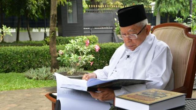 Maruf Amin Minta Maaf, Saiful Anam: Wapres Kalah Sama Menko