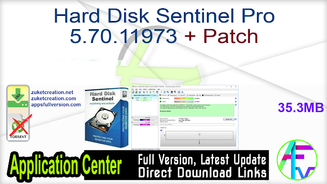 Hard Disk Sentinel Pro 5.70.11973 + Patch