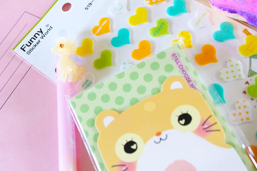cute kawaii stationary