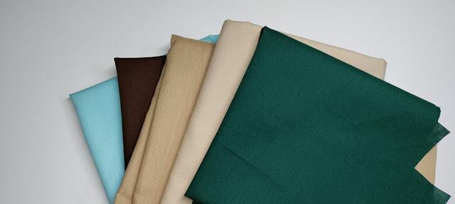 Solid colored fabrics