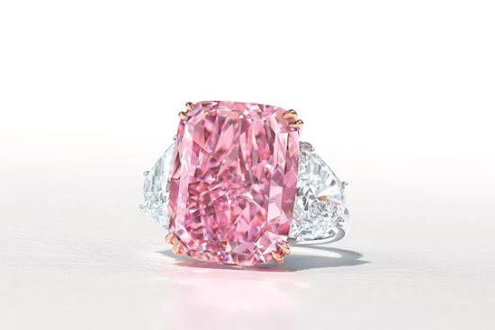 Viên kim cương hồng quý hiếm có tên Sakura 15, 81 carat