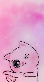 Wallpaper Whatsapp Pink Keren