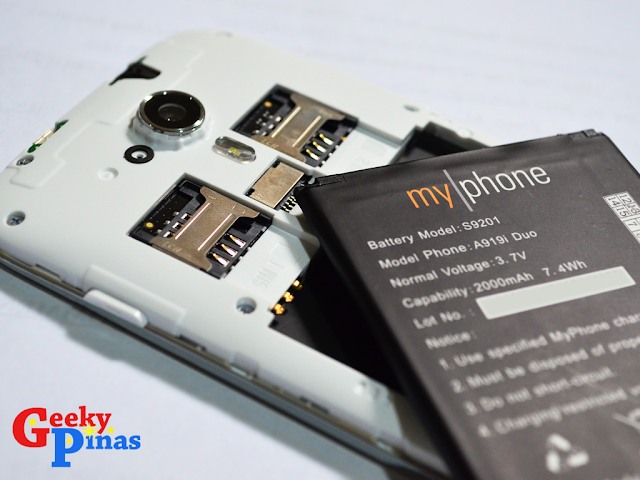 MyPhone A919i Duo Rocks at the Price Tag of PHP6300!