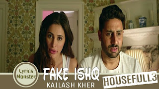 Fake Ishq – kailash kher, Nakash aziz