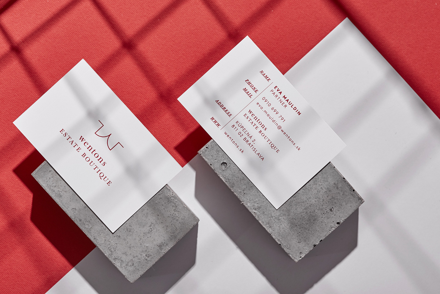 Every property has a number just like every Wentons branding material is characterized by a unique number (reference date...) which is slightly bigger and ... & Good design makes me happy: Wentons Brand Identity by Kiosk Studio