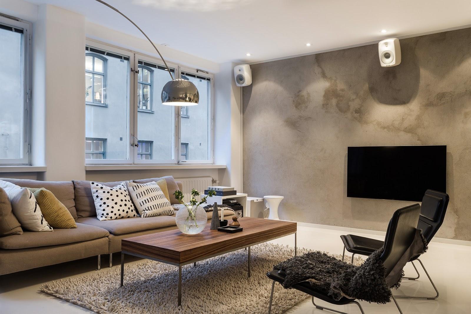 El blog de demarques dar continuidad el espacio con un for Living modernos 2016