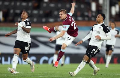 ملخص واهداف مباراة بيرنلي وفولهام (2-0) الدوري الانجليزي