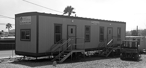 Construction Office and storage trailers for rent Texas