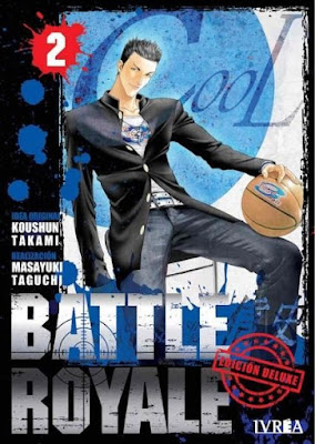 Manga: Review de Battle Royale Vol.2 de Koushun Takami y Masayuki Taguchi - IVREA