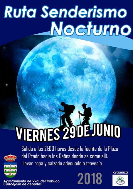 Senderismo Nocturno en Villanueva del Trabuco