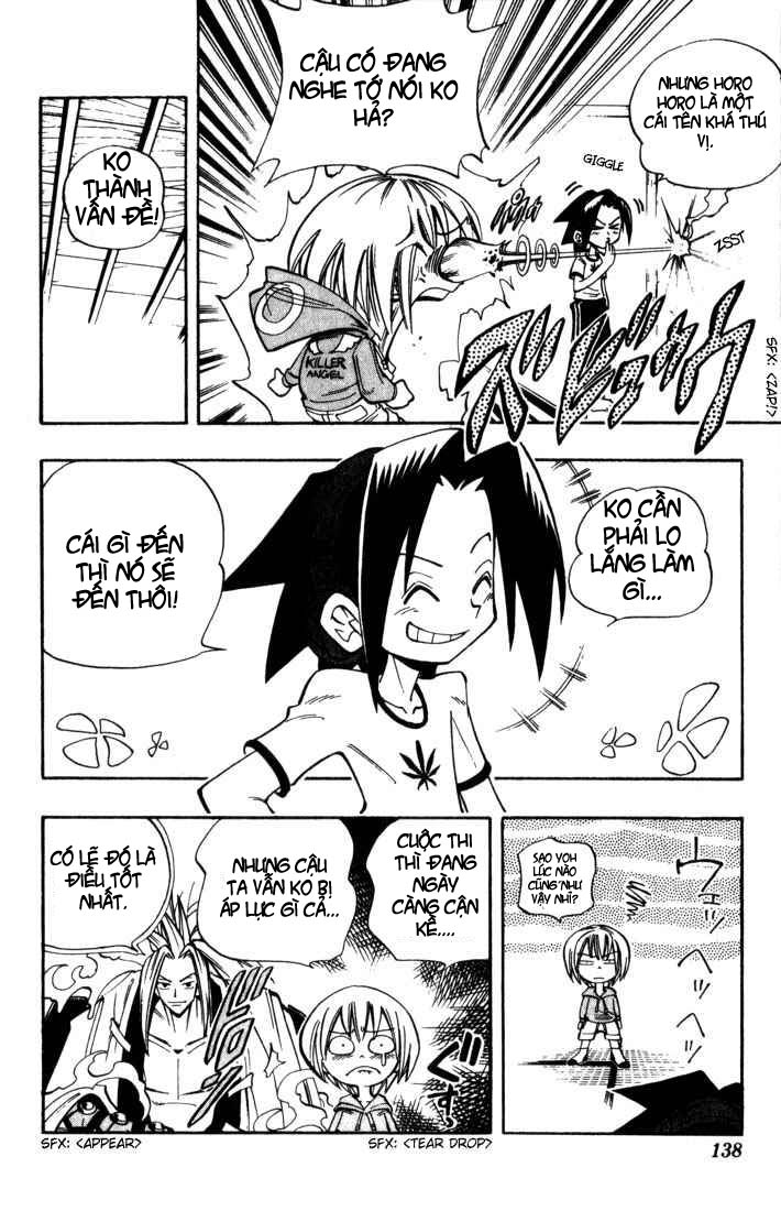 Shaman King [Vua pháp thuật] chap 33 trang 8