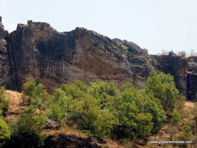 escalada en Pontón de la Oliva