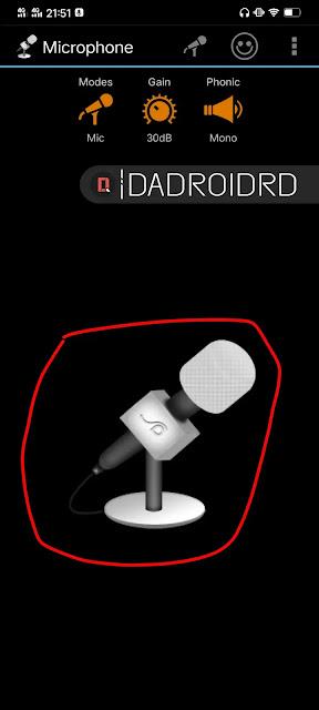 Cara mengubah Smartphone Android menjadi Microphone