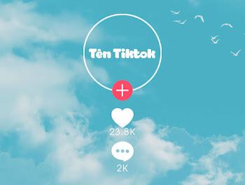 Tạo avatar tên tiktok trong suốt độc đáo