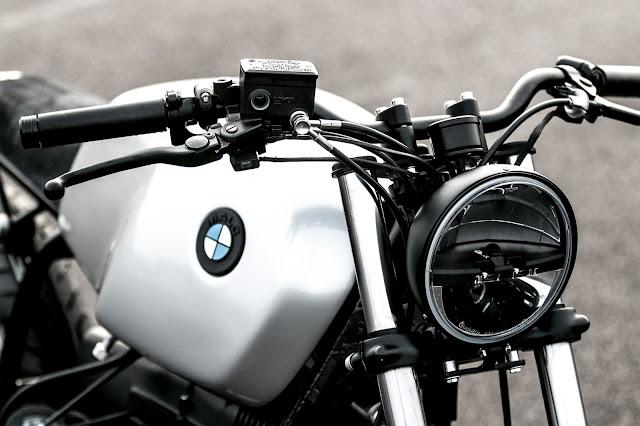 BMW R65 By Auto Fabrica Hell Kustom