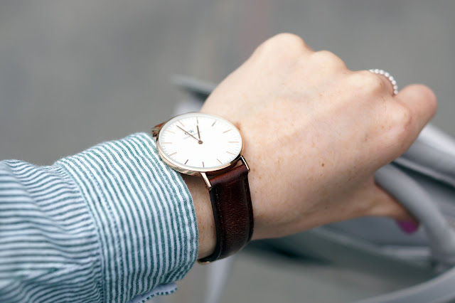 Hello Freckles Radley Clerkenwell Style Outfit Fashion Blogger Daniel Wellington Watch