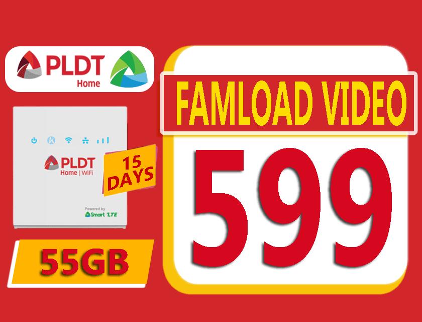 PLDT Famload Video 599