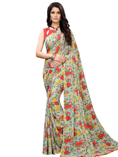 Stylish Aagam  Georgette Women's Sarees