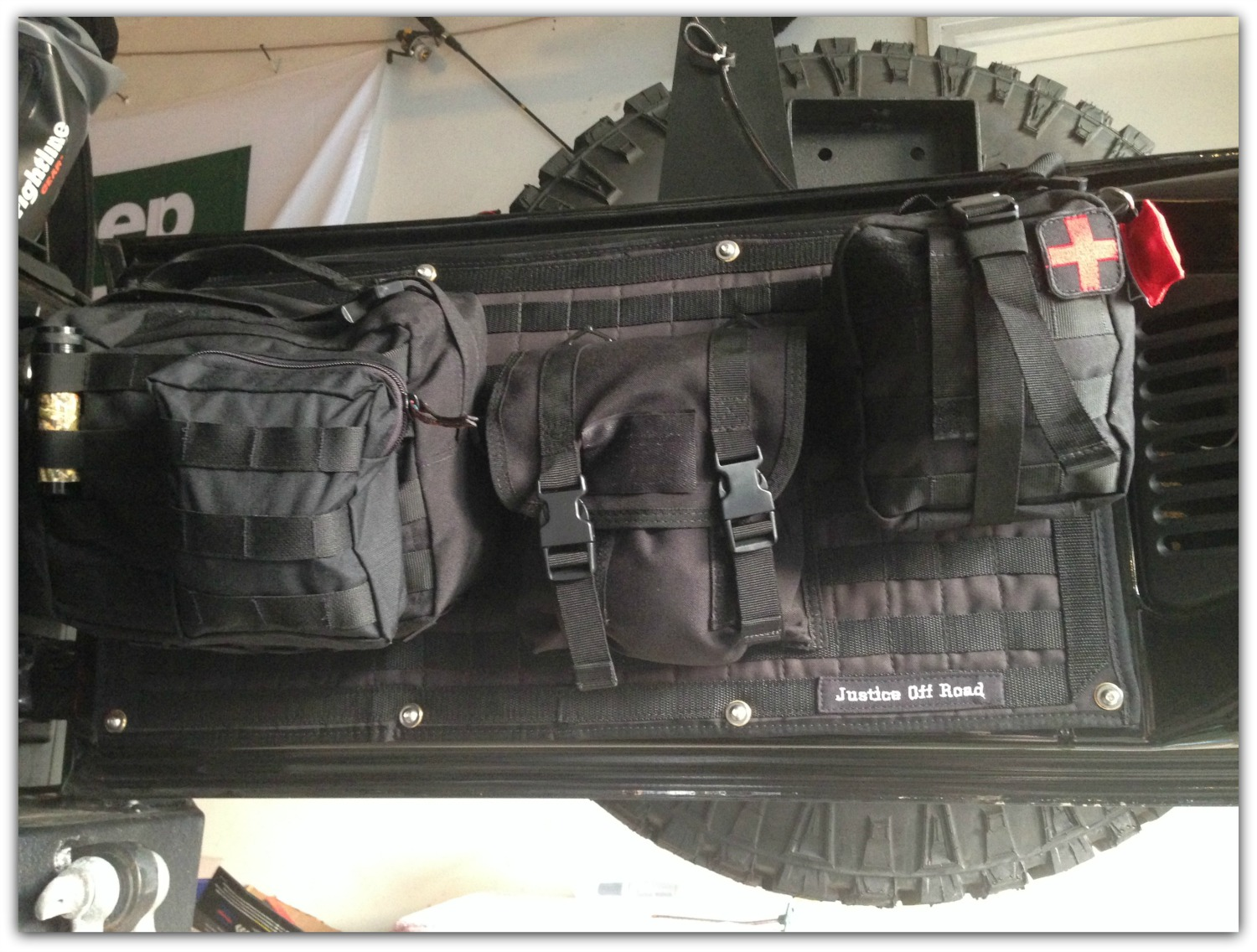 Blog: Molle Panel & Storage Bags Install